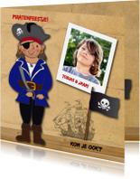 Kinderfeestjes - Kinderfeest piraat eigen foto