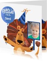 Kinderfeestjes - Kinderfeestje Leeuw met foto