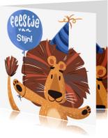 Kinderfeestjes - Kinderfeestje Leeuw