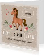 Kinderfeestjes - Kinderfeestje meisje thema paarden