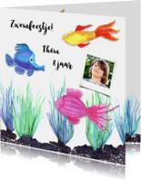 Kinderfeestjes - Kinderfeestje zwemmen vissen
