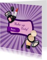 Kinderfeestjes - Kinderfeestjes Make-up party