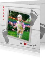 kinderkaart 1e voetstapjes