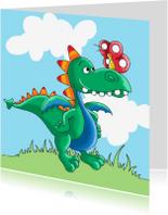 Kinderkaarten - Kinderkaart draak en vlinder