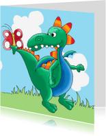 Kinderkaarten - Kinderkaart draakje