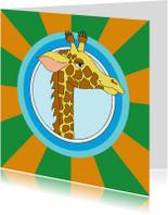 Kinderkaarten - Kinderkaart giraf