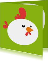 Kinderkaarten - Kinderkaart kip