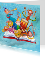 Kinderkaarten - Kinderkaart Muziek maken