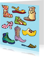 Kinderkaarten - Kinderkaart Schoenen