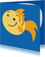 Kinderkaarten - Kinderkaart visje