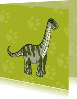 Kinderkaarten - Kinderkaarten - Brontosaurus