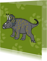 Kinderfeestjes - Kinderkaarten-Dino