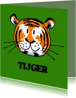 Kinderkaarten - Kinderkaarten - Tijger
