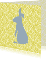 Dierenkaarten - Kitschkonijn