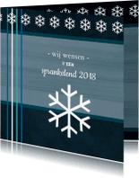Nieuwjaarskaarten - Klassieke kaart 86