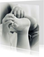 Felicitatiekaarten - Kleine handjes en voetjes