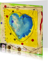 Kunstkaarten - Kunstkaart a heart for everyone
