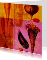 Kunstkaart groente-HR