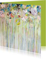 Kunstkaarten - Kunstkaart schilderij Dauw - IF