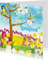 Communiekaarten - Lentefeestkaart