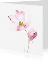 Bloemenkaarten - lentetulpjes