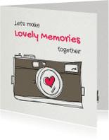 Valentijnskaarten - Let's make Lovely Memories - SG