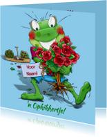 Beterschapskaarten - Leuk opkikkertje met rozenstruikje