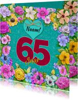 Verjaardagskaarten - Leuke verjaardagskaart met aanpasbare cijfers voor de jarige