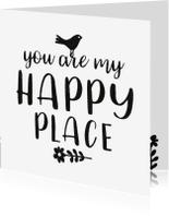 Liefde kaarten - Liefde Happy Place