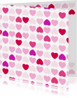 Liefde kaarten - Liefde hart 1