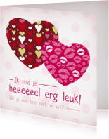 Liefde kaarten - Liefde hart 10