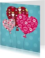 Liefde kaarten - Liefde hart 11