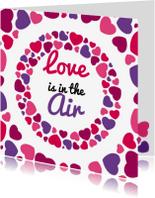 Valentijnskaarten - Liefde hart 6