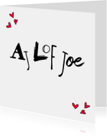 Liefde kaarten - Liefde kaart Ajlofjoe