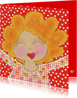 Liefde kaarten - Liefde kaart knuffel