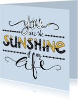 Liefde kaarten - Liefde - Sunshine - EM