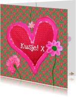 Liefde kaarten - Liefdekaart Kusje PA