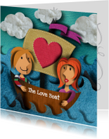 Liefde kaarten - Liefdeskaart - The Loveboat