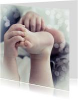 Felicitatiekaarten - Little hand and feet