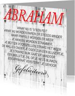 Verjaardagskaarten - made4you-abraham