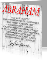 Verjaardagskaarten - made4you-abraham