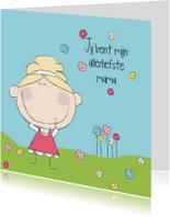 Moederdag kaarten - mijn allerliefste mama