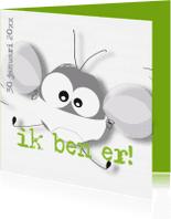 Geboortekaartjes - Mo Card geboortekaartje humor