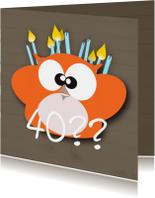 Verjaardagskaarten - Mo Card leeftijd verjaardagkaart