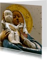 Religie kaarten - Moeder met kind