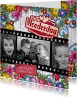 Moederdag kaarten - moederdag foto bloemen romantisch