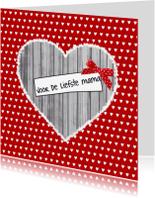 Moederdag kaarten - Moederdag Voor de liefste mama