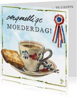 Moederdag kaarten - Moederdagkaart lang leve de boerderij Rien Poortvliet