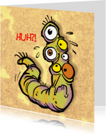 Verjaardagskaarten - Monsters Rochel