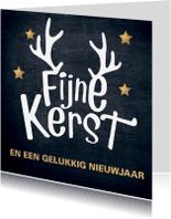 Zakelijke kerstkaarten - mooie kerstkaart typografisch